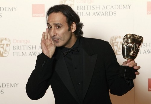 Desplat (DH Soundtrack Composer) at BAFTA