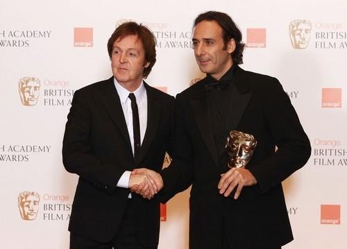 Desplat (DH Soundtrack Composer) at BAFTA
