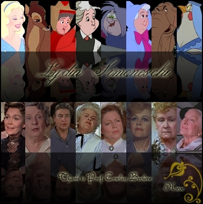 "disney "" Wise Lady mentors"" collage"