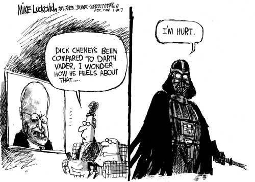 Dont compare Vader to politicians