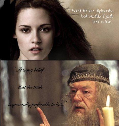 Dumbledore pwns Bella