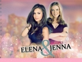 Elena and Jenna - girls-of-the-vampire-diaries wallpaper