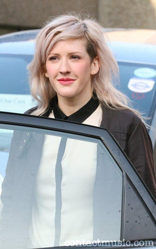 ellie goulding hair. Ellie amp; Greg James leaving ITV