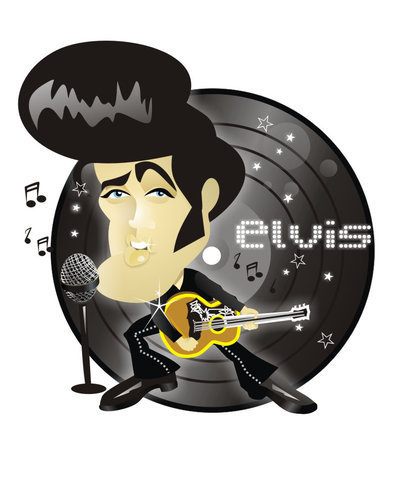 Elvis Caricature