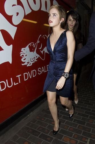 Emma Watson Pre-BAFTA
