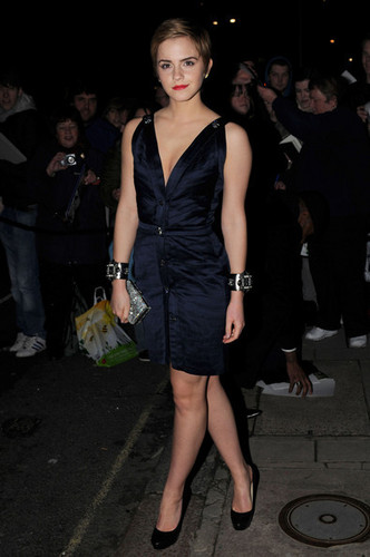 Emma @ a Chanel Pre-BAFTA party at Mark's Club