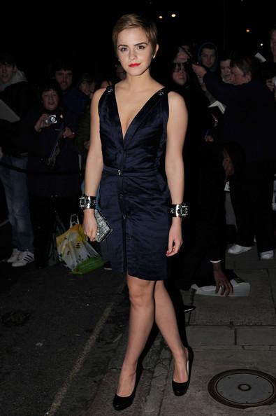 Emma @ a Chanel Pre-BAFTA party at Mark's Club