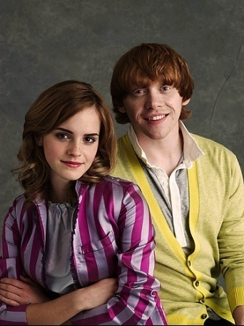 Entertainment Weekly 2009 - rupert-grint-and-emma-watson Photo