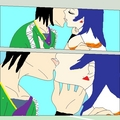 Fabia and Shun amazing kiss