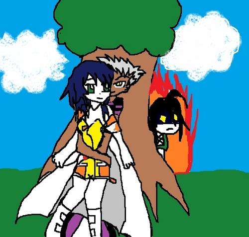 Fabia is with Shun not Ren!