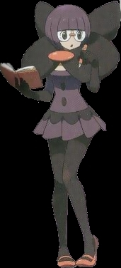 First Member of the Unova Elite Four: Shauntal