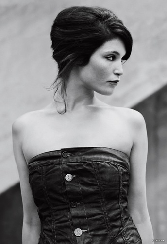 Gemma Arterton wallpaper possibly containing a cocktail dress, a dinner dress, and a strapless entitled G-Star Raw