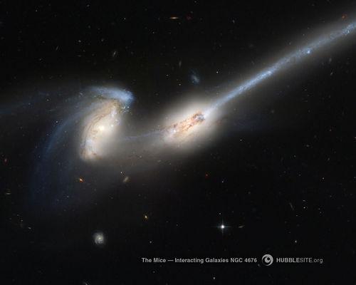 Galaxies.