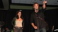 Gen & Jared Padalecki at concert - jared-padalecki-and-genevieve-cortese photo