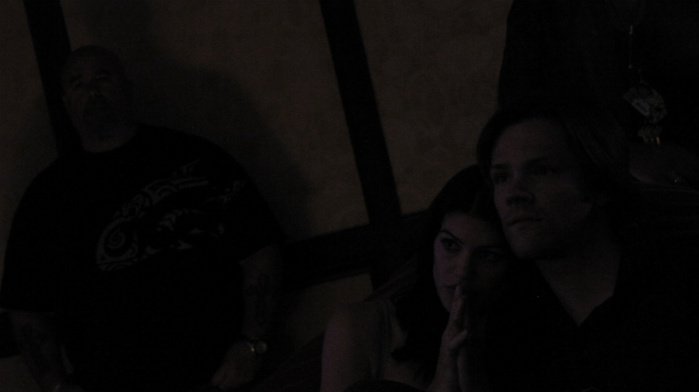 Gen & Jared Padalecki at concert