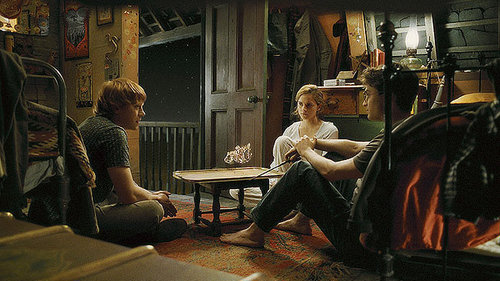 Halfblood Prince - harry-ron-and-hermione Photo