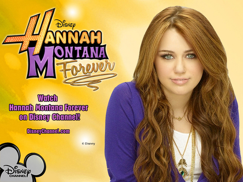 Hannah Montana 4'ever Exclusive MILEY VERSION پیپر وال سے طرف کی dj!!!