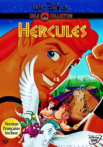 Hercules - dhahabu Collection DVD Cover