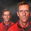 Hugh Laurie photo possibly containing a portrait titled Hugh Icons