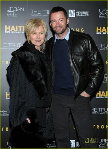 Hugh Jackman: Help Haiti Benefit with Deborra Lee Furness!