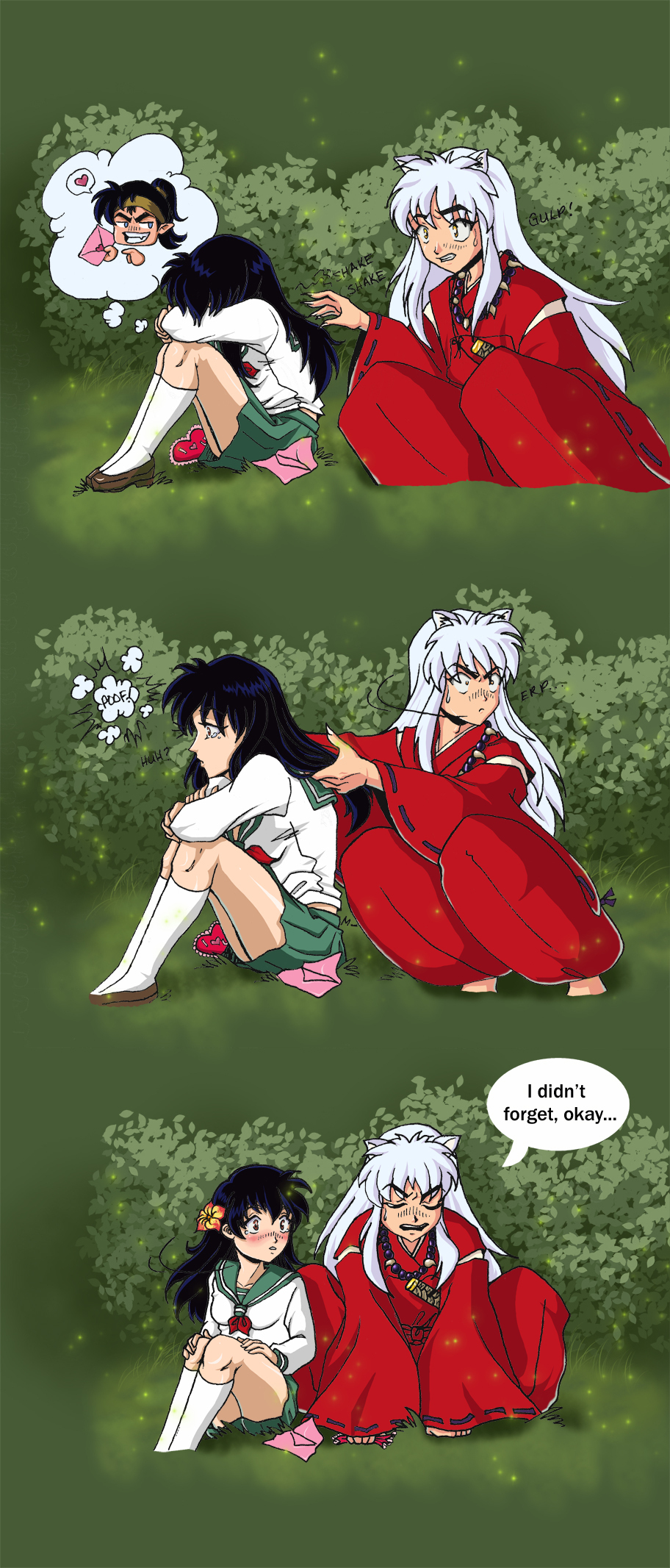 Inuyasha and Kagome Doing It http://www.fanpop.com/clubs/inuyasha/images/19238537/title/inuyasha-kagome-fanart