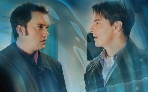 Jack and Ianto wallpaper