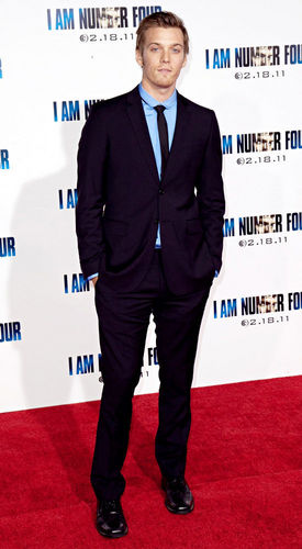 Jake Abel at the premiere of I Am Number Four