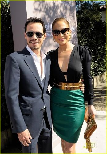 Jennifer Lopez: UNICEF Luncheon with Marc Anthony!