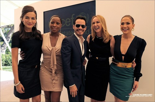 Jennifer @ The First Annual UNICEF Women Of Compassion Luncheon