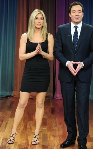 """Jennifer on """"Late Night with Jimmy Fallon"""""""