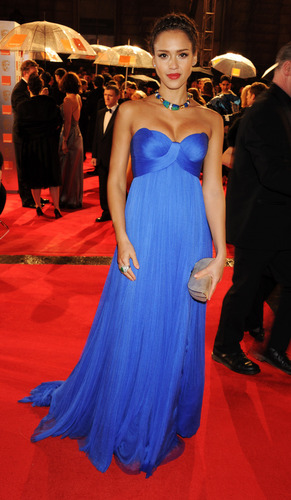 Jessica @ 2011 BAFTA Awards