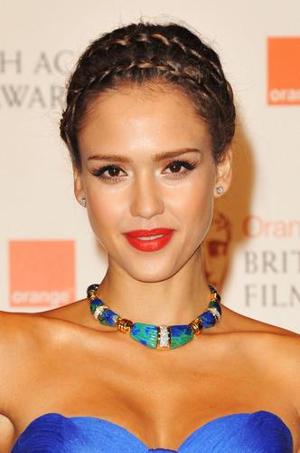 Jessica @ 2011 BAFTA Awards