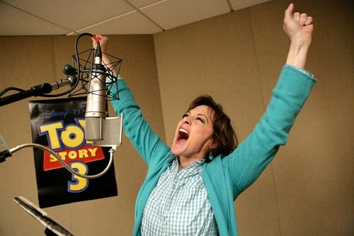 Joan Cusack Voicing Jessie in Toy Story 3