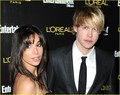 Josie Loren: SAG Nominee Party with Chord Overstreet! - josie-loren photo