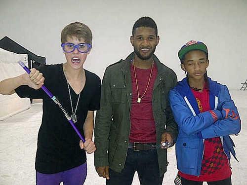 Justin, Usher & Jaden
