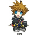 KH2 Sora - chibi photo