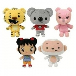 Kai-Lan and Friends Plush Dolls