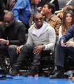 Kanye @ Lakers vs. Knicks Game 2/11
