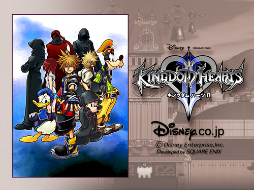 Kingdom Hearts 2 wallpaper probably with a sign called Kingdom Hearts<3