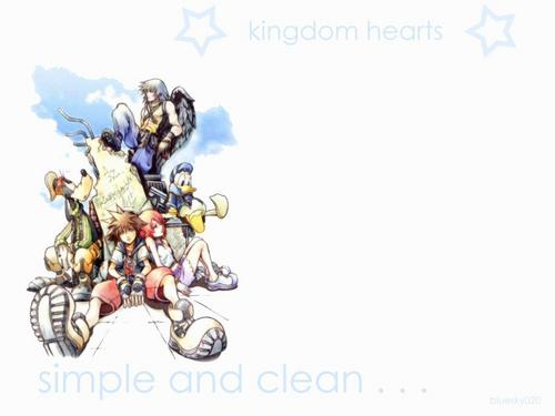 Kingdom Hearts 2 wallpaper called Kingdom Hearts<3