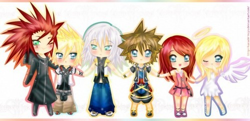 Kingdom Hearts 2 wallpaper titled Kingdom Hearts<3