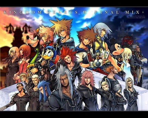 Kingdom Hearts 2 Обои with Аниме titled Kingdom Hearts<3