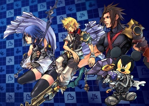 Kingdom Hearts 2 fond d'écran with animé titled Kingdom Hearts<3