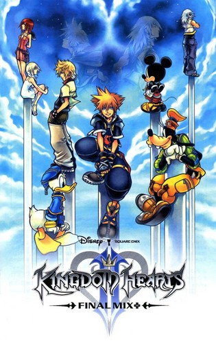 Kingdom Hearts 2 fond d'écran with animé entitled Kingdom Hearts<3