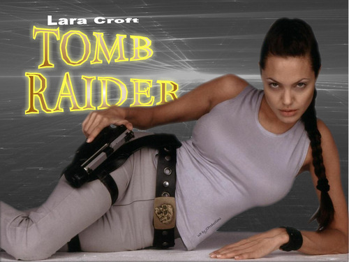 Lara Croft of Tomb Raider aka Angelina Jolie