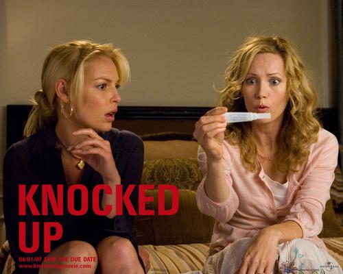 Leslie & Katherine Heigl in Knocked Up