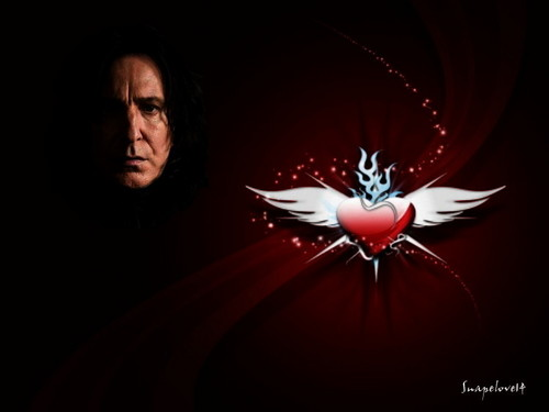Severus Snape wallpaper entitled Love forever