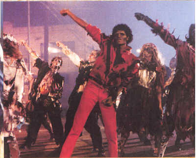 Michael Jackson <3 THRILLER!!! ^.^