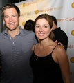 Michael Weatherly and Sasha Alexander