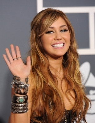 Miley @ 2011 Grammy Awards - miley-cyrus photo